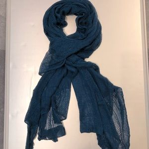 Knitted rectangular wrap / stole / scarf